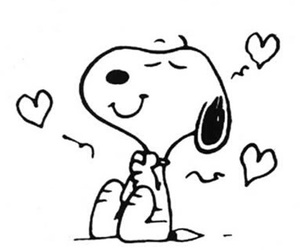 snoopy, love, and ❤ image