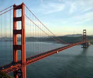 san francisco, bridge, and california image