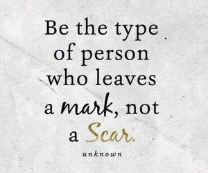 quotes, mark, and scars image