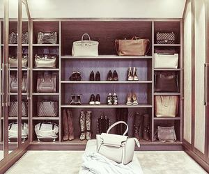 bag, shoes, and luxury image
