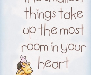 quotes, winnie the pooh, and heart image