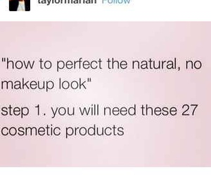 funny, makeup, and natural image