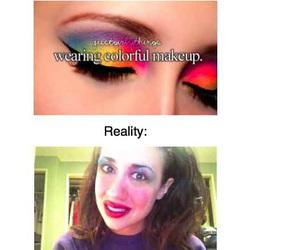 funny, makeup, and reality image