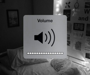 music, room, and volume image