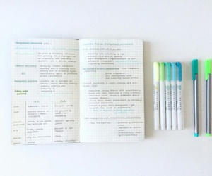 school, stationary, and study image