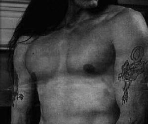 black, long hair, and rip image