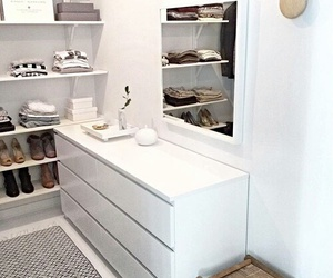 closet, shoes, and white image