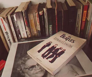 book, the beatles, and beatles image