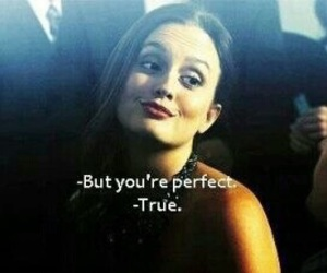 gossip girl, perfect, and blair image