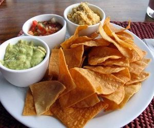 food, nachos, and delicious image
