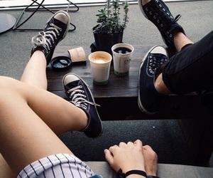 coffee, couple, and tumblr image