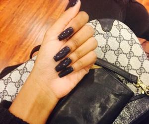 beauty, gucci, and nails image