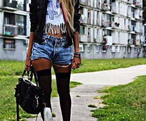 fashion, outfit, and ghetto chic image