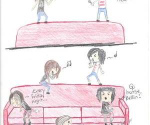kellin quinn, pierce the veil, and funny image