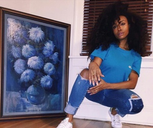 blue and sza image