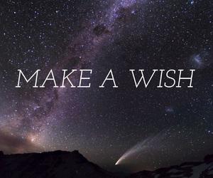 wish, stars, and quote image