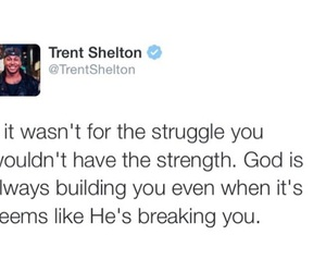 quote, god, and strength image