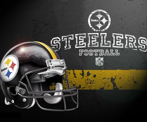 football, steelers, and pittsburgh image