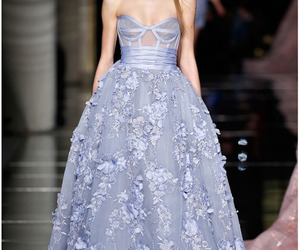 beautiful, blue, and Couture image