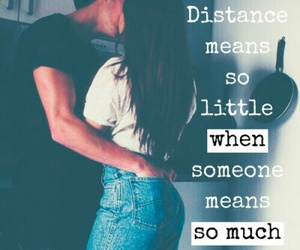 couple, quote, and distance image