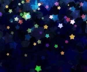 background, colors, and stars image