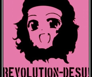 anime, revolution, and desu image