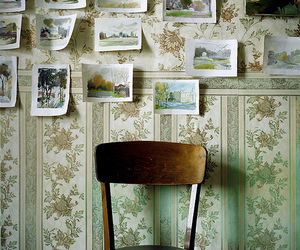 chair, vintage, and photography image