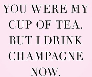 champagne, tea, and drink image