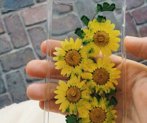 flowers, case, and iphone image