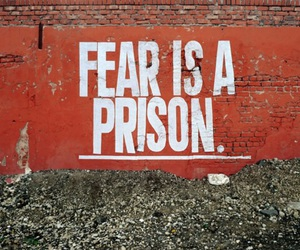 fear, prison, and quotes image