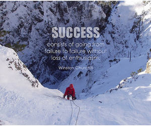 determination, don't give up, and enthusiasm image