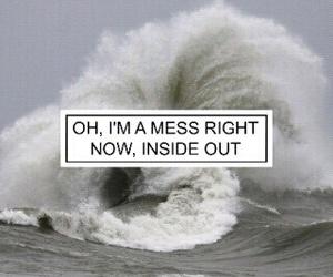 ed sheeran, mess, and quote image