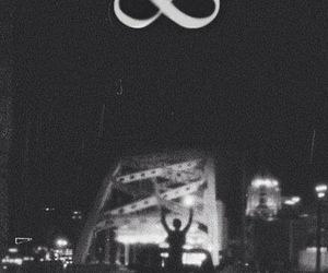 infinity, infinite, and night image