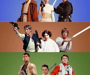 flynn, han+solo, and rey image