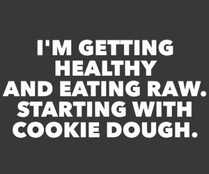 cookie dough and funny image