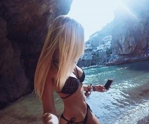 beach, pretty, and beautiful image