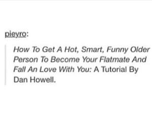 danisnotonfire, dan howell, and youtuber image