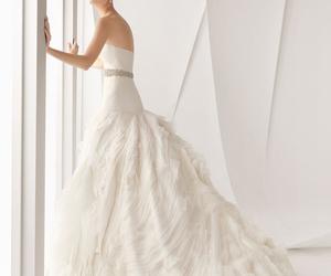 bridal fashion, fashion, and wedding dress image
