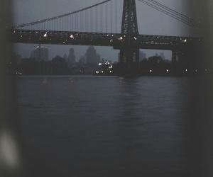 city, bridge, and grunge image