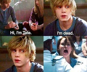 ahs, funny, and americanhorrorstory image
