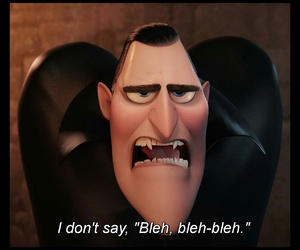 funny, bleh, and hotel transylvania 2 image