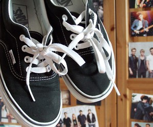 black, photos, and vans image