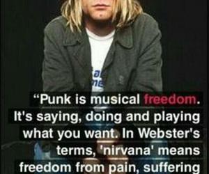 nirvana, kurt cobain, and punk image