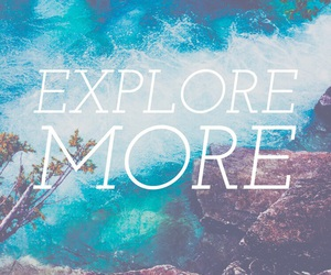 explore, travel, and words image