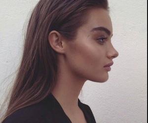 girl, model, and makeup image