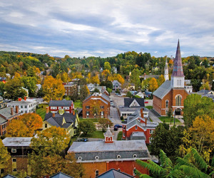 small town, vermont, and montpelier image