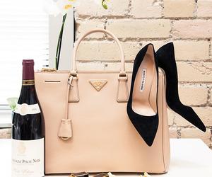 bag, fashion, and wine image