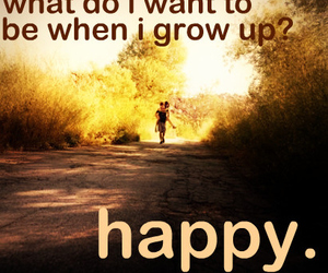 happy and quote image
