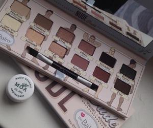 eyeshadow, makeup, and thebalm image