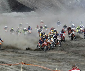 dirt, motocross, and motorcycle image